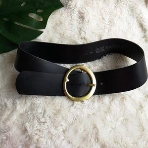 Danier leather thick belt
